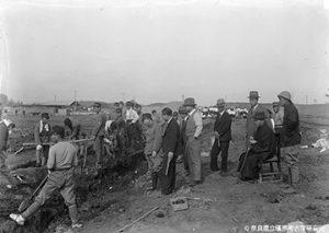 橿原遺跡の発掘調査(1938年)
